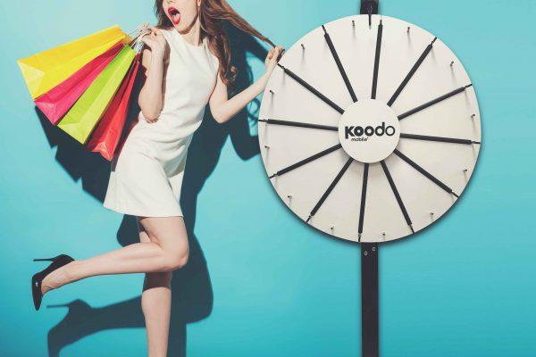 Koodo_Prize Wheels